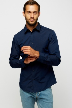 Navy Casual Shirt