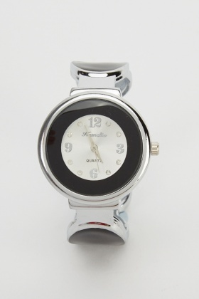 Colour Block Bangle Watch
