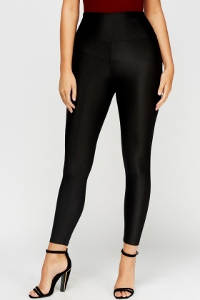 ad0be313fcb369 High Waisted Black Disco Pants - Just £5