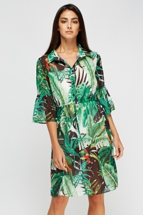 Aikha Floral Sheer Cover Up