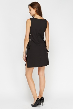 Aikha Lace Up Side Shift Dress