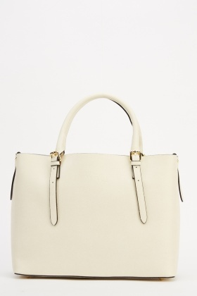 Marco Venezia Leather Emina Buckled Handbag