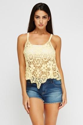 Crochet Cami Top