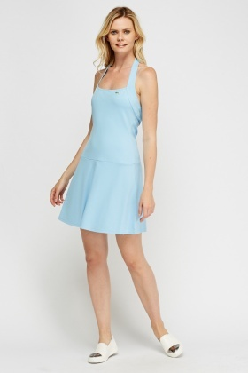 Lacoste Halter Neck Swing Dress