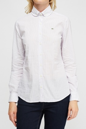 Lacoste Pinstriped Formal Shirt