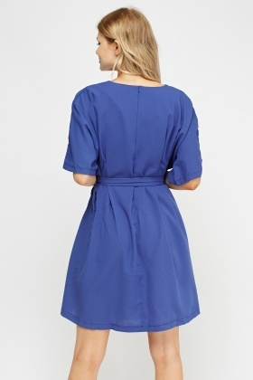 Tie Up Swing Dress