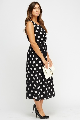 805eeff5655c Polka Dot Midi Dress - Just £5