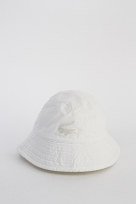 4ede2d445 Lacoste Cotton Bucket Hat - Limited edition
