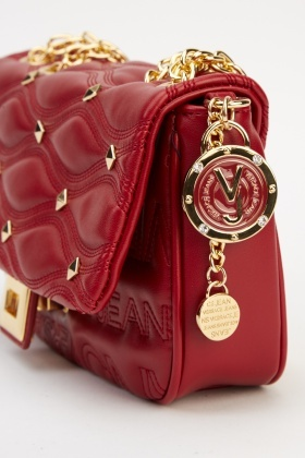 1c69ebb13f Versace Jeans Burgundy Small Bag - Limited edition | Discount ...