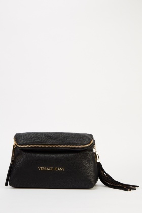 Versace Jeans Couture Black Clutch Bag