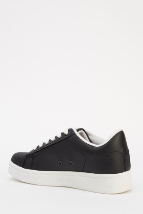Contrast Low Top Trainers