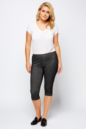 3/4 Casual Leggings