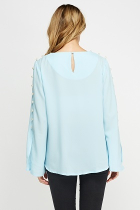 Pearl Embellished Box Top