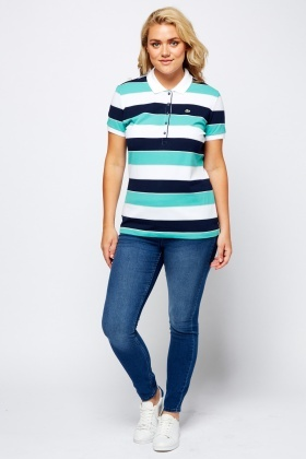 Lacoste Multi Stripe Polo T-Shirt