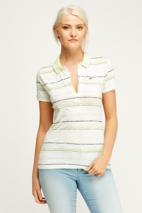 Lacoste Polo Striped T-Shirt