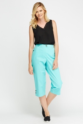 Casual 3/4 Leg Trousers