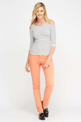 Skinny Fit Casual Jeans