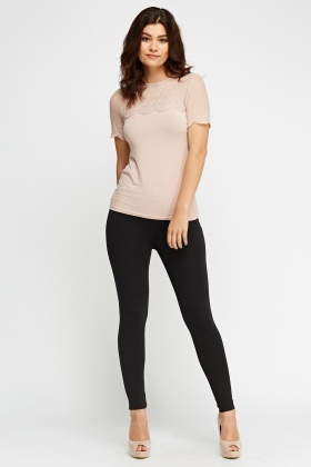 Fitted Basic Jeggings
