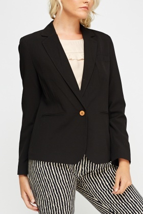 Black Formal Blazer