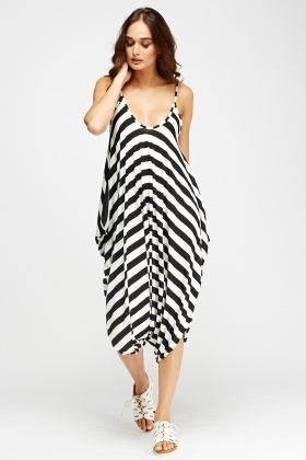 Harem Cami Striped Jumsuit