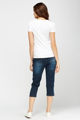 Ankle Cropped Jeggings