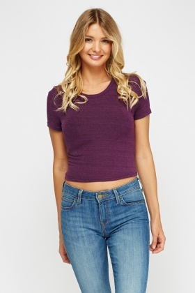 Speckled Basic Top