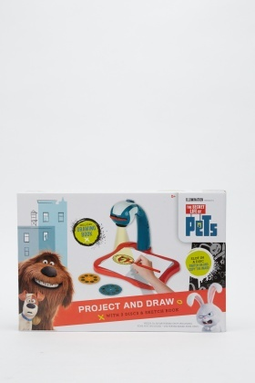 Secret Life Of Pets Project And Draw