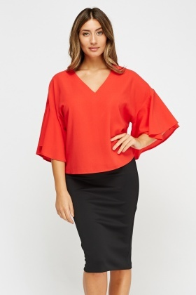 Flare Sleeve Box Top