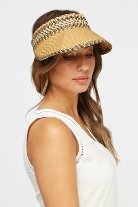 Straw Printed Hat