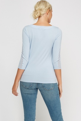 3/4 Sleeve Basic Top