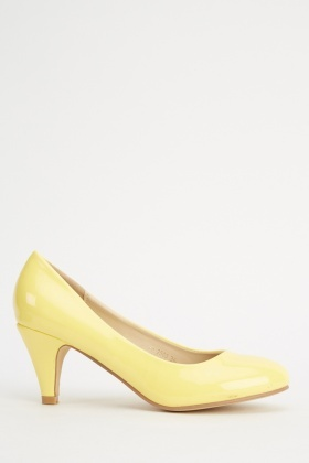 PU Pump Low Heels