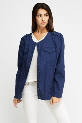Classic Button Up Jacket