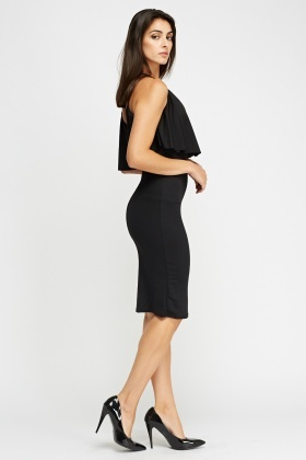 Flare Top Bodycon Dress