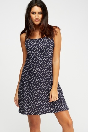 Daisy Printed Dress