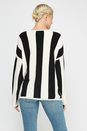 Box Mono Stripe Top