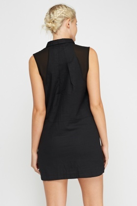 Sleeveless Shift Dress
