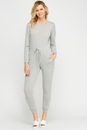 Casual Speckled Jumpsuit