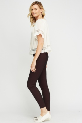 Cotton Blend Treggings