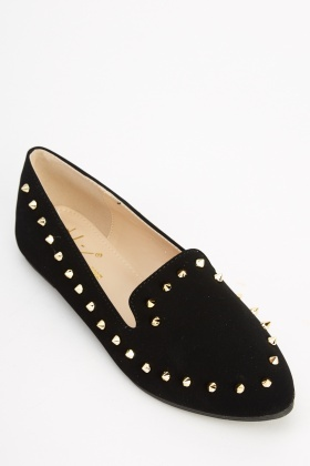 Sergio Todzi Black Studded Pumps