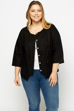 Casual Button Up Jacket