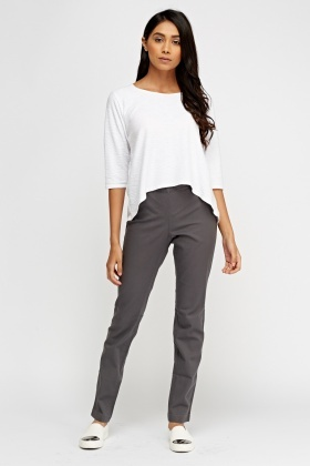 Casual Straight Leg Jeggings