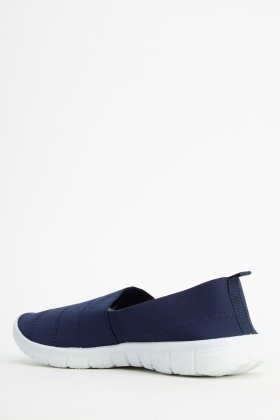 Elasticated Sport Slip On Shoes