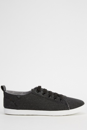 Lace Up Basic Trainers