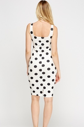 Bodycon Dress Dot Bodycon Dot Dot Polka Polka Dress Polka vOmN8n0w