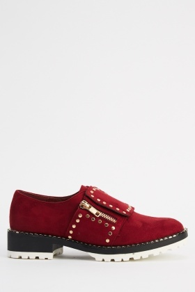 Ideal Encrusted Brogues Shoes