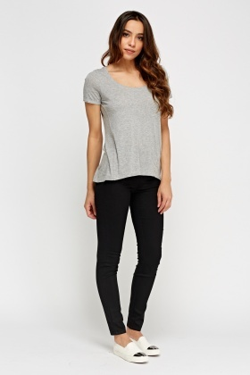 Black Slim Fit Jeggings