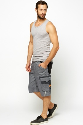 Work Multi Pocket Shorts