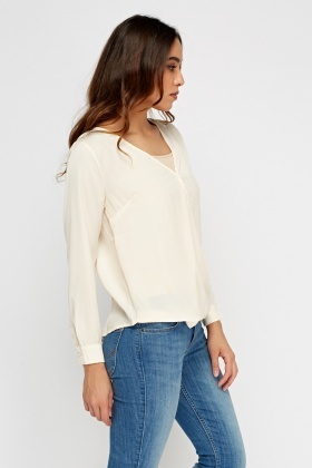 Wrap Front Blouse