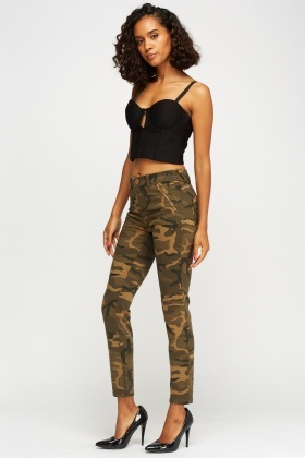 Super Skinny Camouflage Jeans