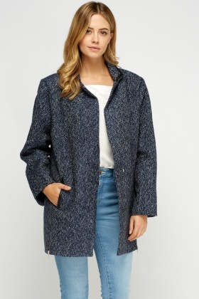 Speckled Boyfriend Style Jacket